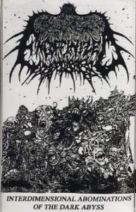 "ENCOFFINIZED - ""Interdimensional Abominations Of The Dark Abyss"" MC"