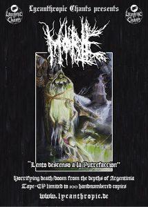 """MORTE - """"Lento descenso a la putrefacción"""" MC out now!"""
